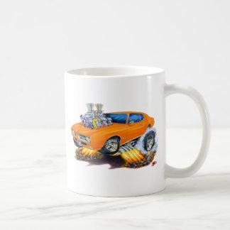 1969 GTO Orange Car Coffee Mug
