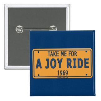1969 Joy Ride Car Pin