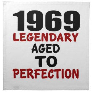 1969 LEGENDARY AGED TO PERFECTION NAPKIN