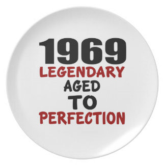 1969 LEGENDARY AGED TO PERFECTION PLATES