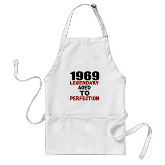 1969 LEGENDARY AGED TO PERFECTION STANDARD APRON