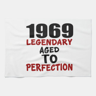 1969 LEGENDARY AGED TO PERFECTION TEA TOWELS
