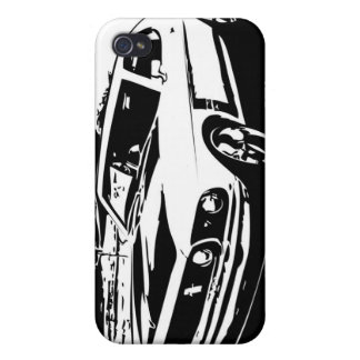 1969 Mustang GT Coupe iPhone 4 Case
