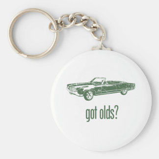 1969 Oldsmobile 98 Convertible Basic Round Button Key Ring
