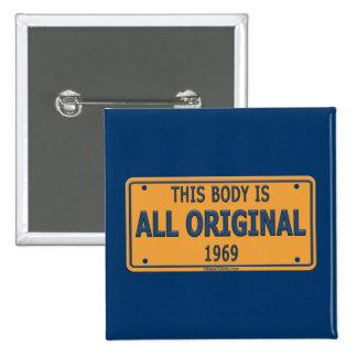 1969 Original Car Body Pins