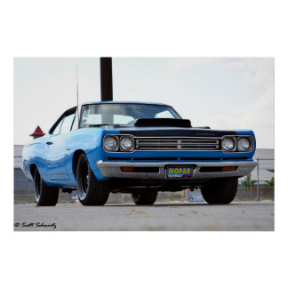1969 Plymouth Satellite Poster