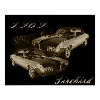 1969 Pontiac Firebird Poster