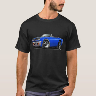1969 Roadrunner Blue-Black Hood Convertible T-Shirt
