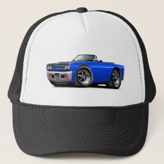1969 Roadrunner Blue-Black Hood Convertible Trucker Hat