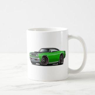 1969 Super Bee Green-Black Top Stock Wheels Coffee Mug