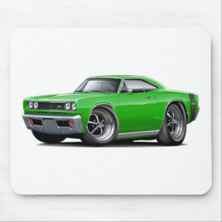1969 Super Bee Green Car Mouse Pad