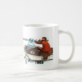 1969P, Arctic Cat Club of America, 1969 Coffee Mug