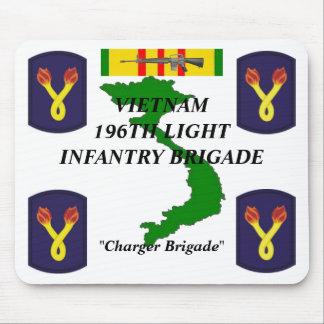 196th Light Inf Vietnam Mousepad 1/w