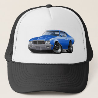 1970-72 Buick GS Blue Car Trucker Hat