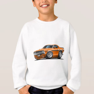 1970-72 Challenger Orange Car Sweatshirt