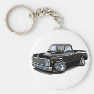 1970-72 Chevy C10 Black Truck Key Ring
