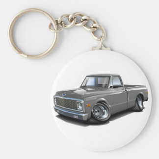 1970-72 Chevy C10 Grey Truck Key Ring