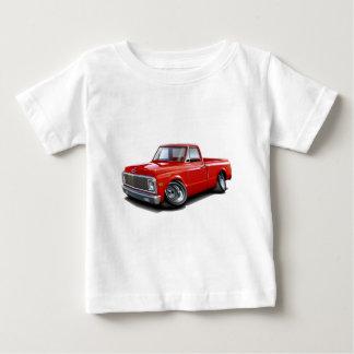 1970-72 Chevy C10 Red Truck Baby T-Shirt
