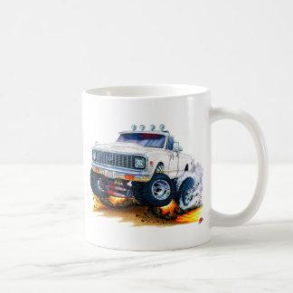 1970-72 Chevy CK1500 White Truck Coffee Mug