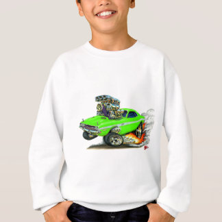 1970-72 Dodge Challenger Lime Car Sweatshirt
