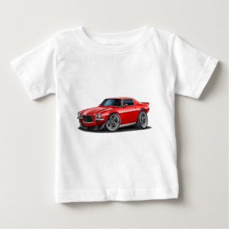1970-73 Camaro Red Car Baby T-Shirt