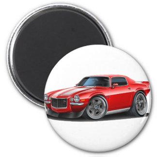 1970-73 Camaro Red/Wht Magnet
