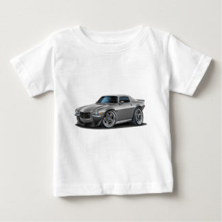 1970-73 Camaro Silver/Grey Car Baby T-Shirt