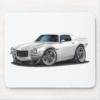 1970-73 Camaro White Mouse Pad