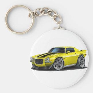 1970-73 Camaro Yel/Blk Key Ring