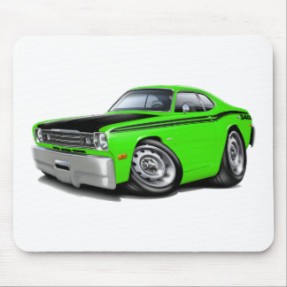 1970-74 Duster 340 Lime Car Mouse Pad