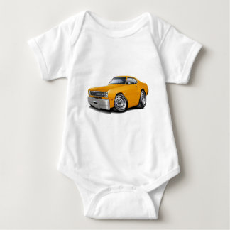 1970-74 Duster Orange Car Baby Bodysuit