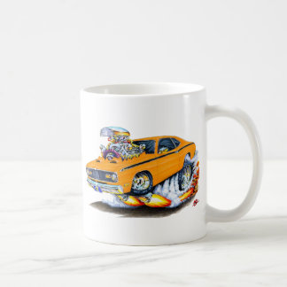 1970-74 Plymouth Duster Orange Car Coffee Mug