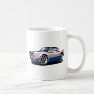 1970 AMC Rebel Machine Red-White-Blue Car Coffee Mugs