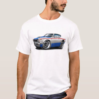 1970 AMC Rebel Machine Red-White-Blue Car T-Shirt