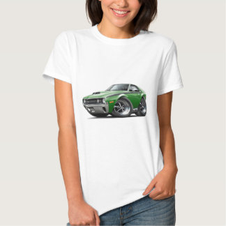 1970 AMX Green-Black Car Tee Shirts
