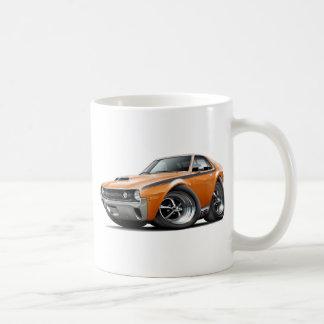1970 AMX Orange-Black Car Coffee Mugs