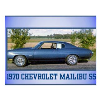 1970 Chev Super Sport Postcard