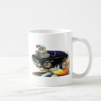 1970 Chevelle Black Car Coffee Mug