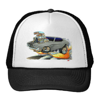 1970 Chevelle Grey-Black Car Cap
