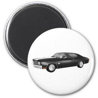 1970 Chevelle SS: Black Finish: Magnet