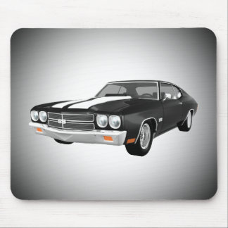 1970 Chevelle SS: Black Finish: Mousepad