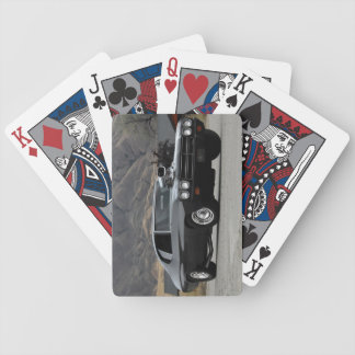 1970 Chevy Chevelle Drag Muscle Car Bicycle Playing Cards