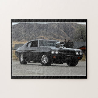 1970 Chevy Chevelle Drag Muscle Car Jigsaw Puzzle