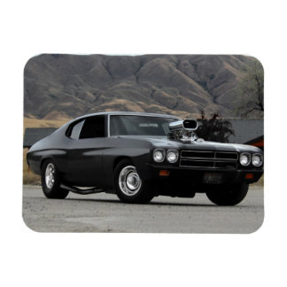1970 Chevy Chevelle Drag Muscle Car Magnet