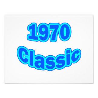 1970 Classic Blue Announcements