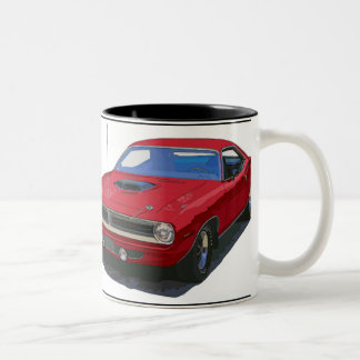 1970 Cuda Coupe Two-Tone Coffee Mug