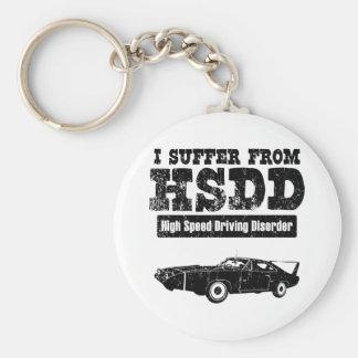 1970 Dodge Charger Daytona Hemi Basic Round Button Key Ring