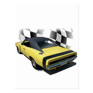 1970 Dodge Charger R/T Postcard