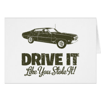 1970 Ford Torino Cobra 429 Card