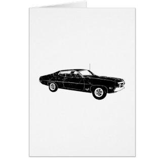 1970 Ford Torino Cobra 429 Greeting Card